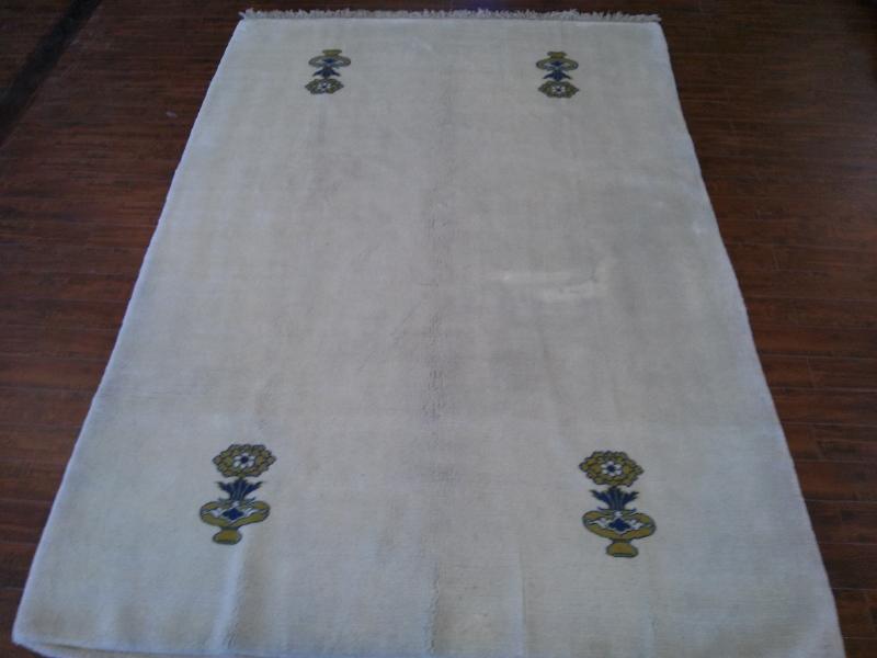 7x10 Handmade Persian Gabeh area rug