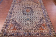 7x10 Handmade Persian Mood area rug