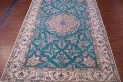 7x10 Handmade Persian Nain area rug