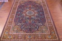 7x10 Handmade Persian Tabriz area rug