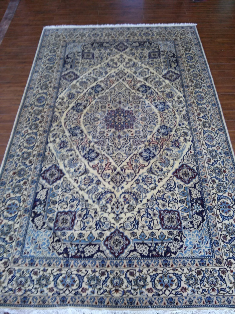 Nain 4x6 wool area rug