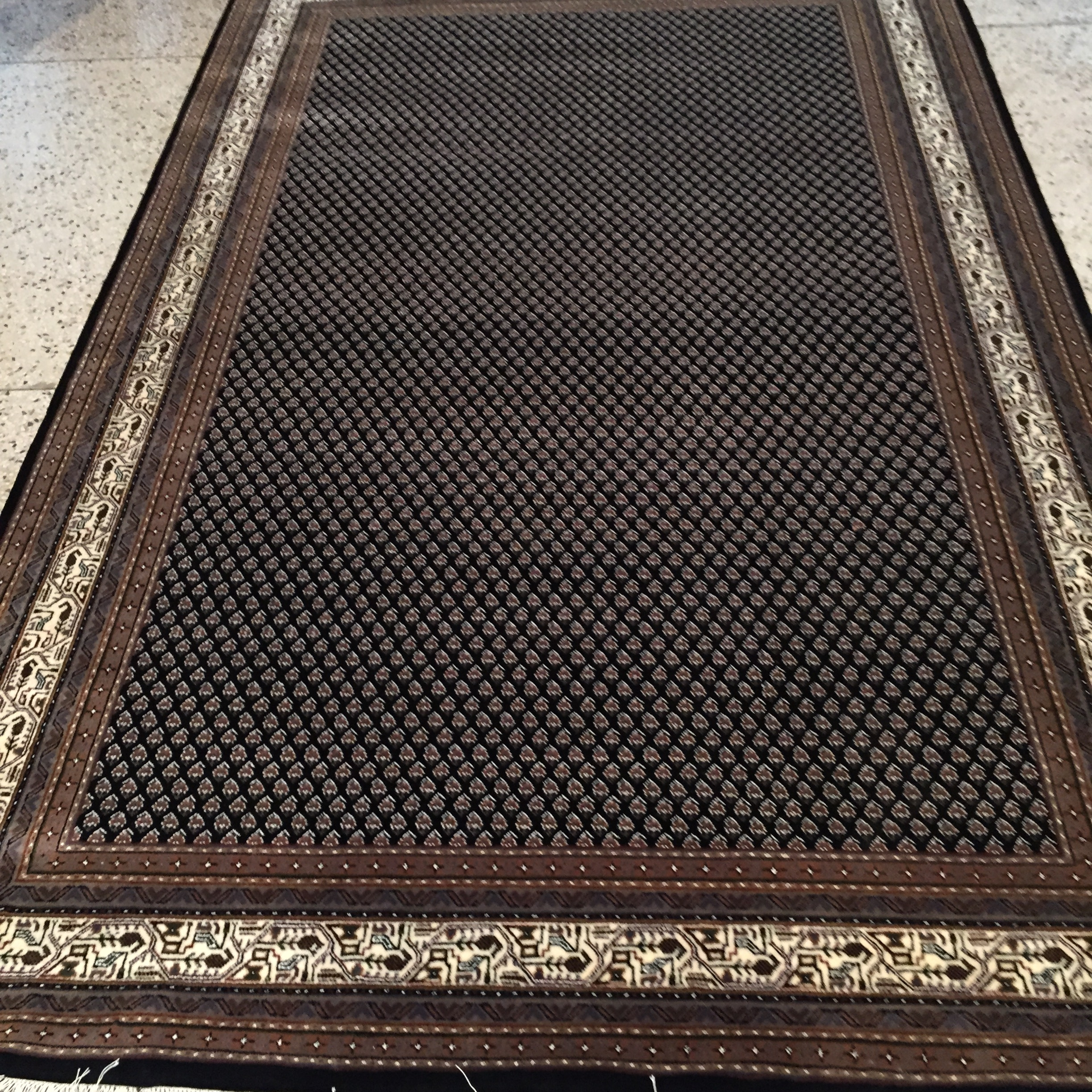 Mir 5x8 wool area rug