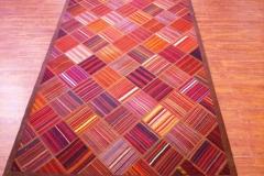 Patchwork 4x6 wool rug