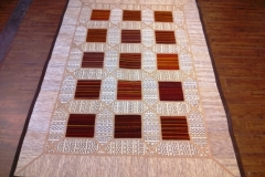 Patchwork 4x6 wool rug