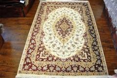 Qum 7x5 100% Silk rug
